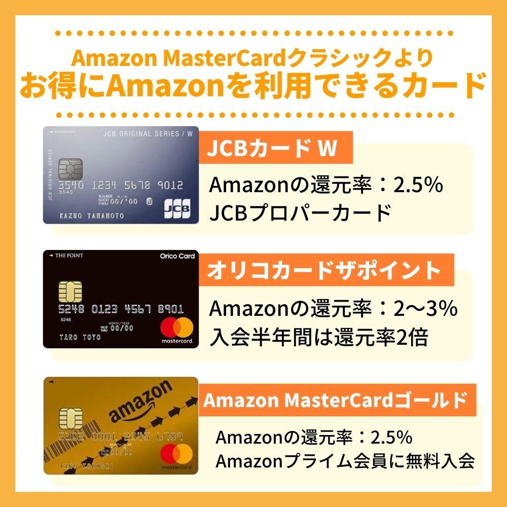 Amazonで一番お得なクレジットカードはAmazon MasterCardクラシックではないことが判明!