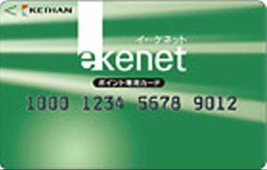 e-kenetポイント専用カード