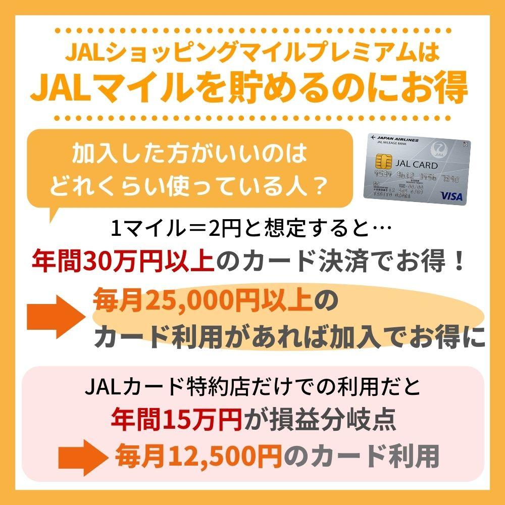 JALマイルを貯めるならJALショッピングマイルプレミアムはお得!