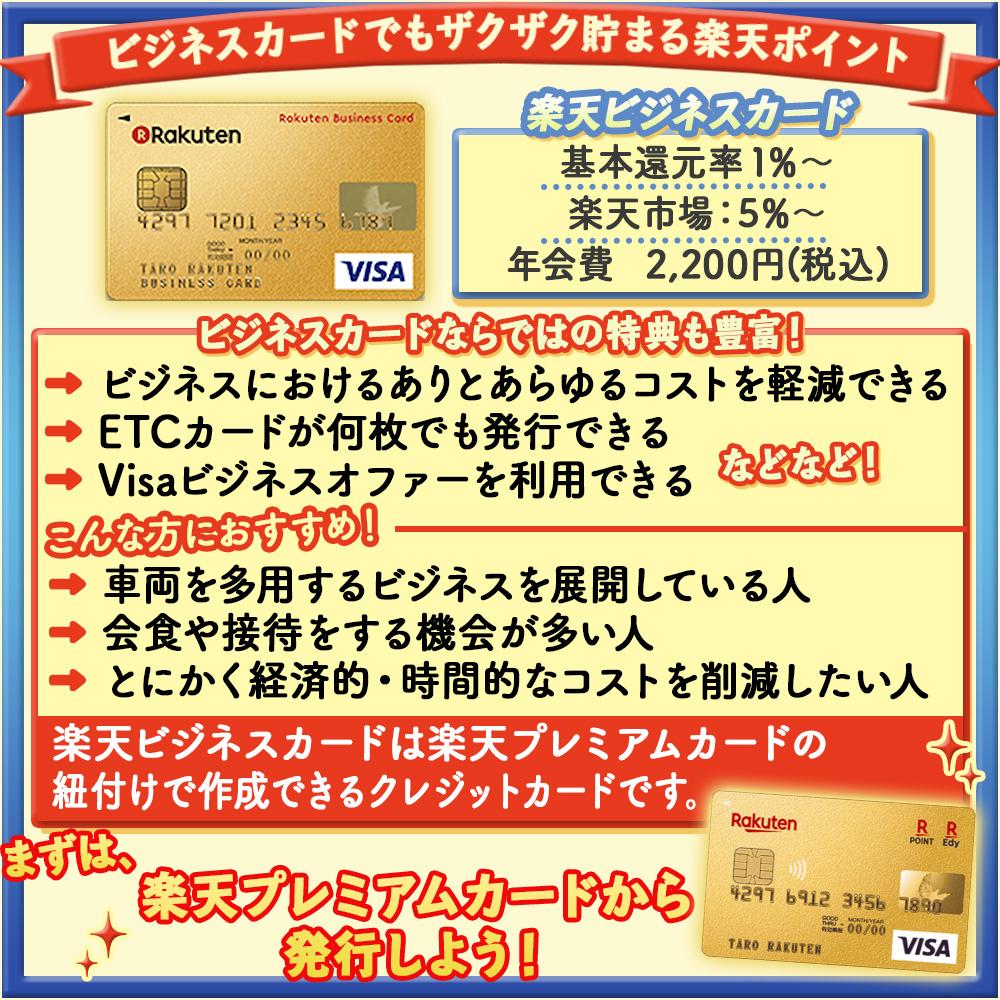 【楽天ビジネスカードの特典と口コミ】ビジネスカードでもザクザク貯まる楽天ポイントと役立つ特典!