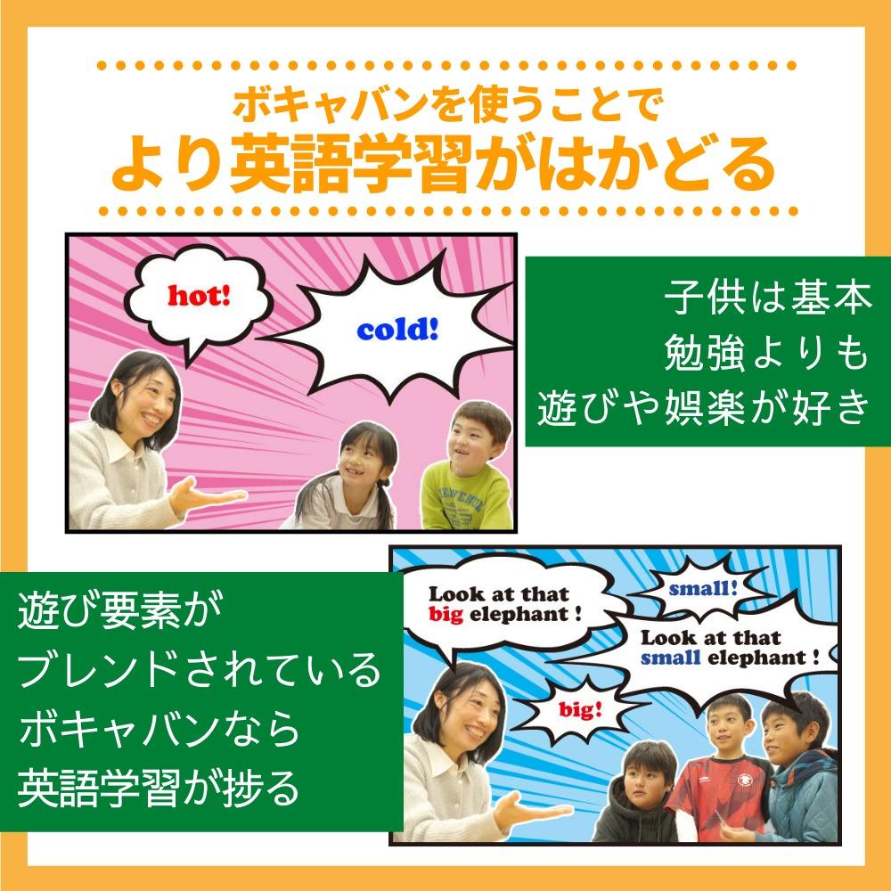 ボキャバンを使うことでより英語学習がはかどる!