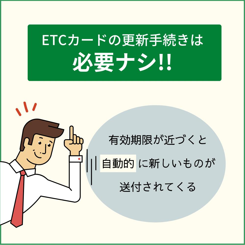 ETCカードの更新方法|基本的には自動で送られてくる!
