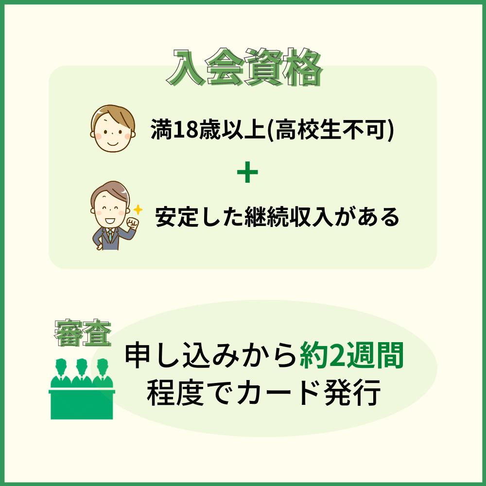 三井住友トラストVISAカードの審査難易度・審査にかかる時間
