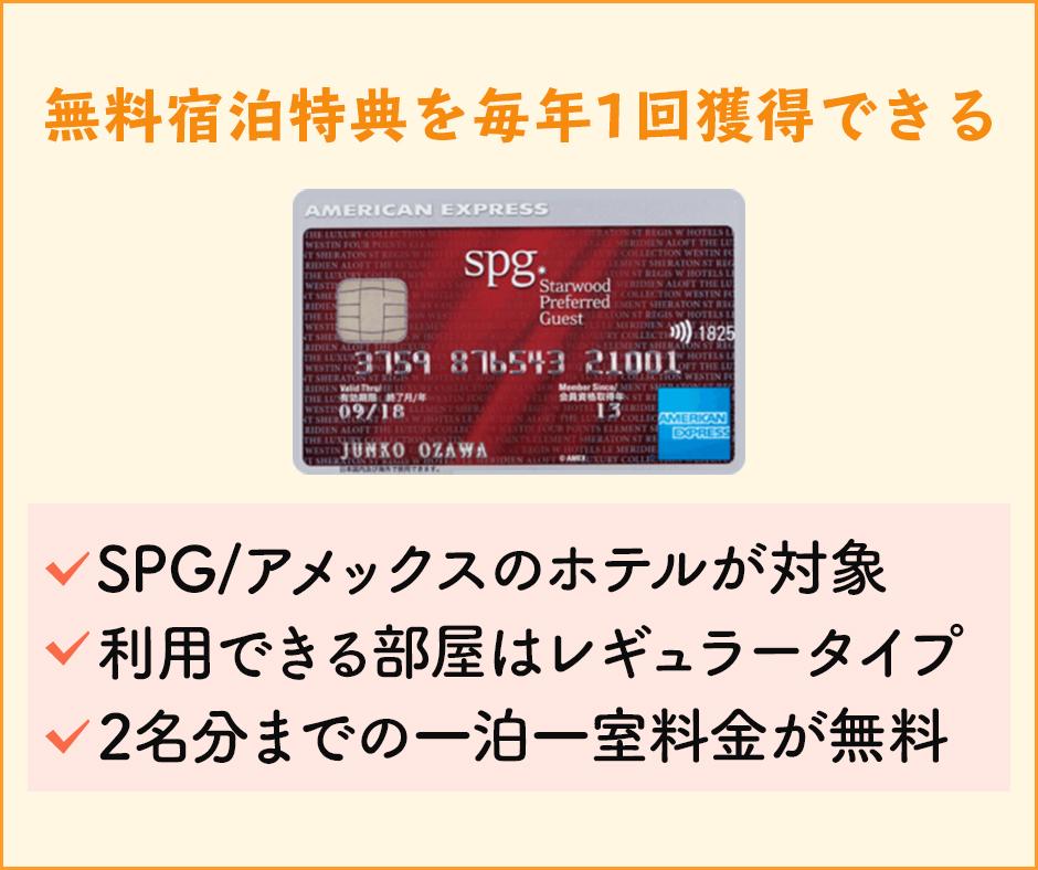 カードの継続利用で世界各地のホテルに無料で宿泊できる