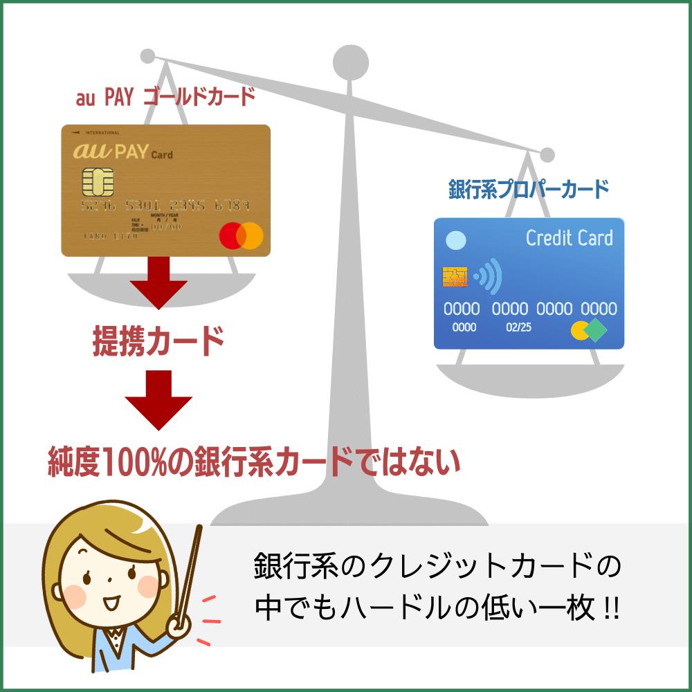 au PAY ゴールドカードの発行・審査会社